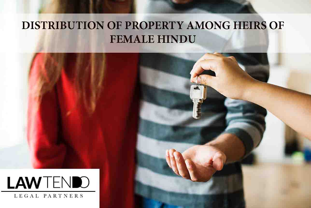 Distribution of Property Among Heirs of Female Hindu