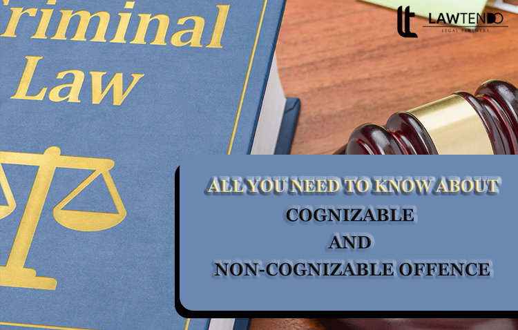 Cognizable and non cognizable offence