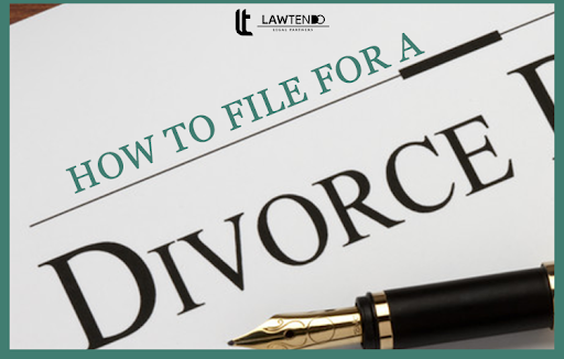 HOW TO FILE FOR A DIVORCE?