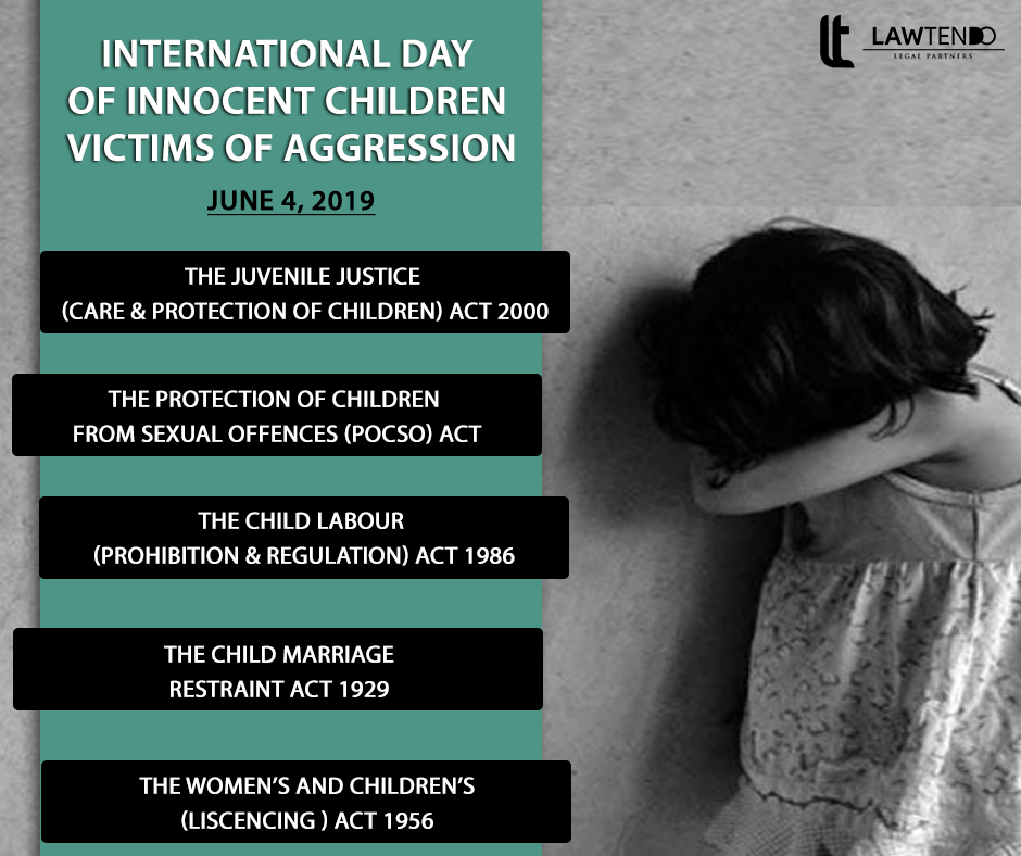 Protection of children being victims of child abuse and aggression