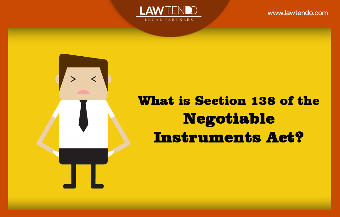 What is section 138 of the negotiable instrument act?