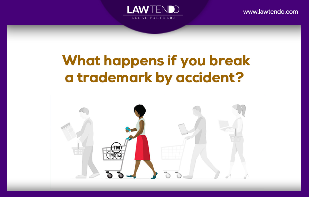 What happens if you break a trademark law by accident?