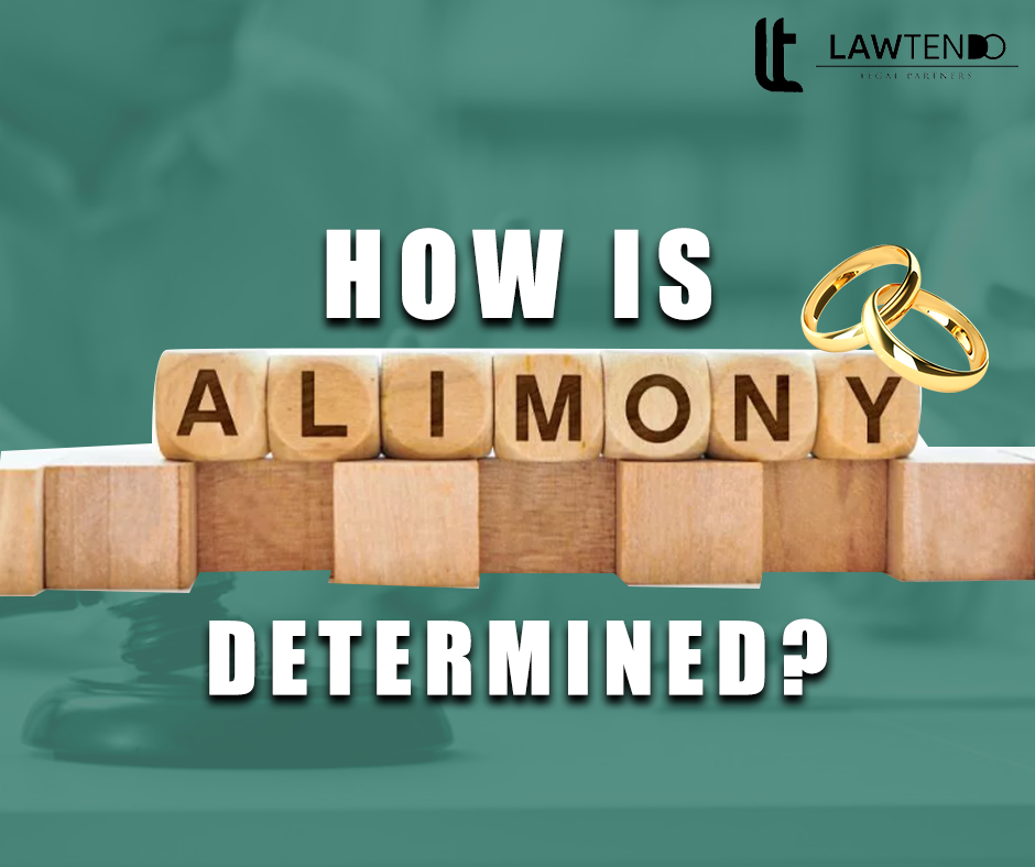 HOW IS ALIMONY DETERMINED?