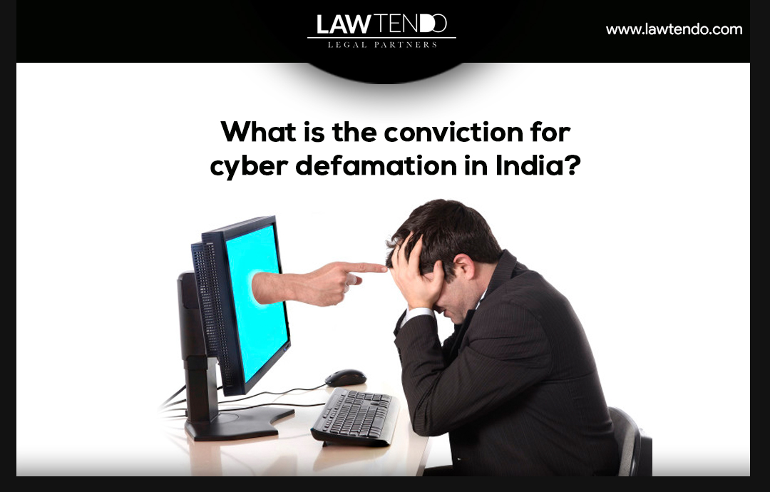 What is the conviction of cyber crime defamation in India?