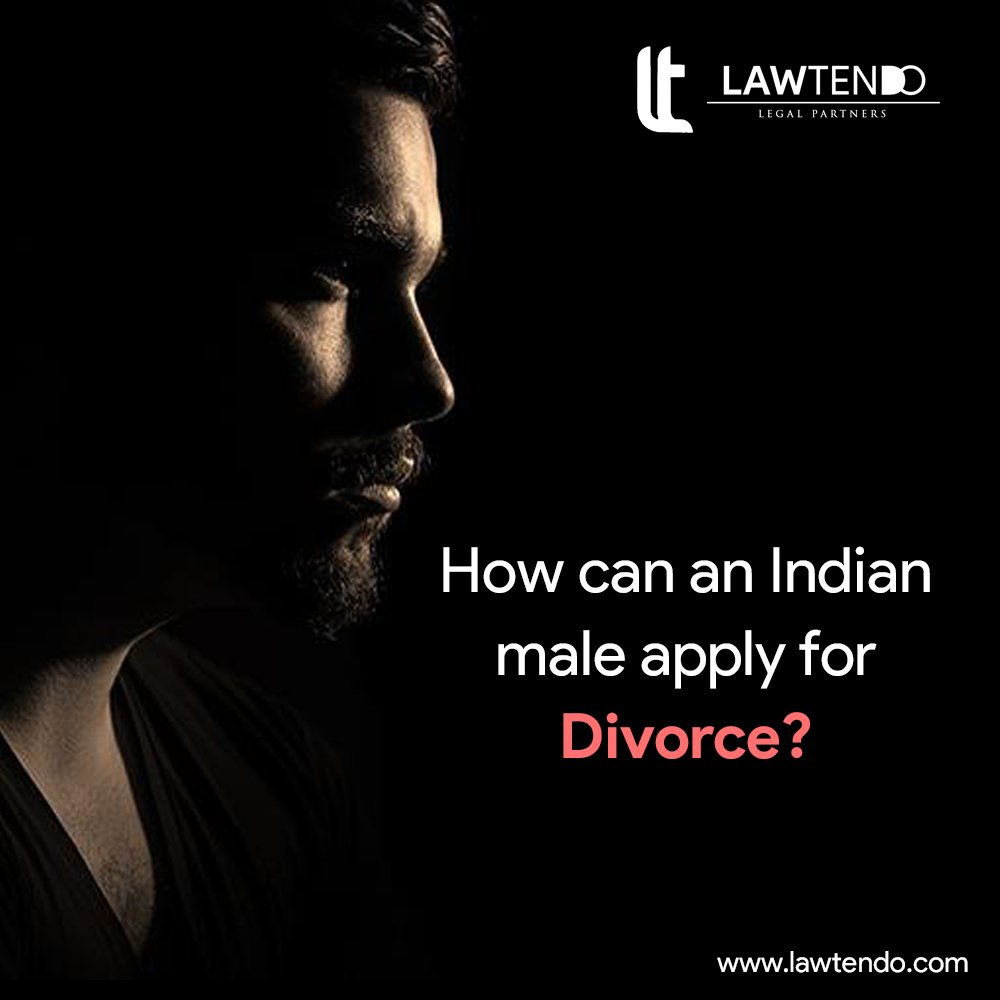 How can a male apply for divorce in india ?