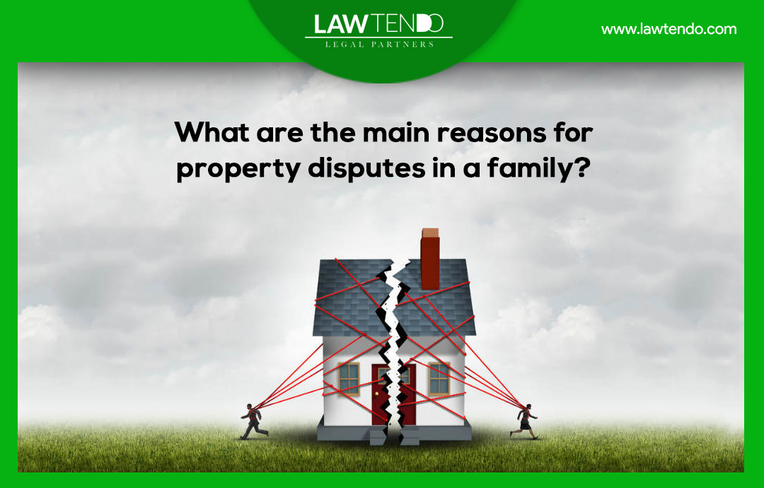 What are the main reasons for disputes in a family?