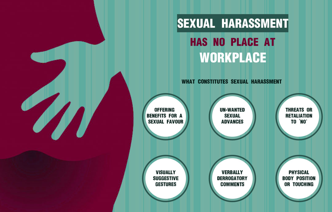 Ever felt uncomfortable at your workplace? Here's all you need to know about sexual harassment at workplace
