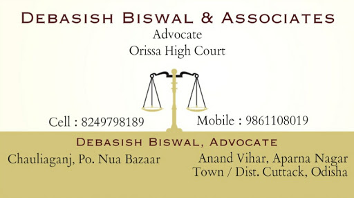 Advocate Debasis Biswal Lawyer Advocate Cuttack