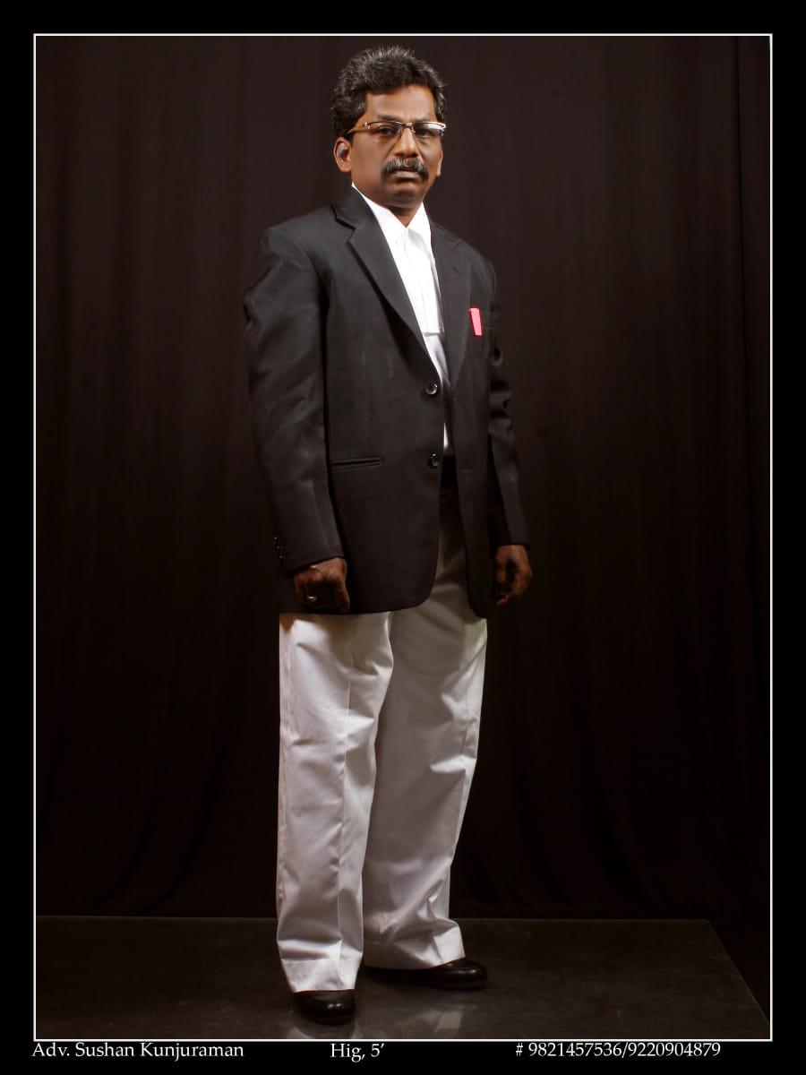 Advocate Sushan Kunjuraman