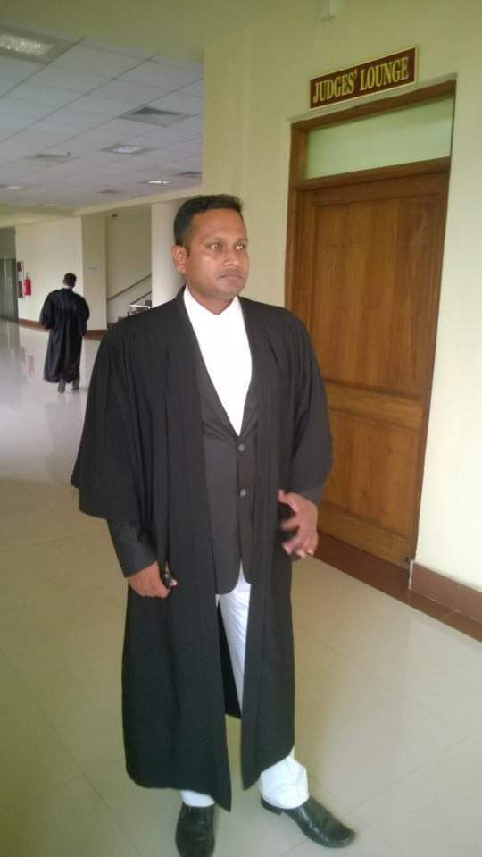 Advocate Darpa Pattanaik
