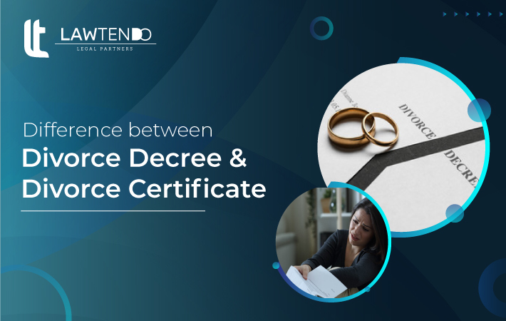What is the Difference Between Divorce Decree and Divorce Certificate