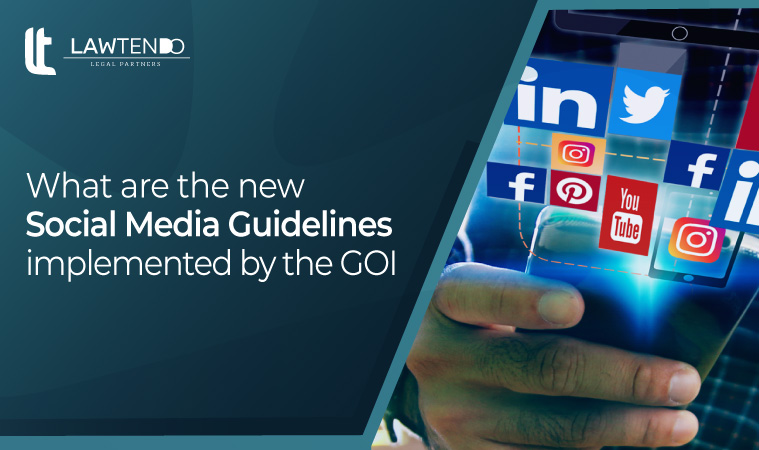 What are the New Social Media Guidelines Implemented by the GOI?