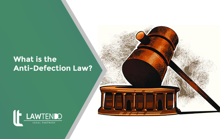 What is anti-defection law?