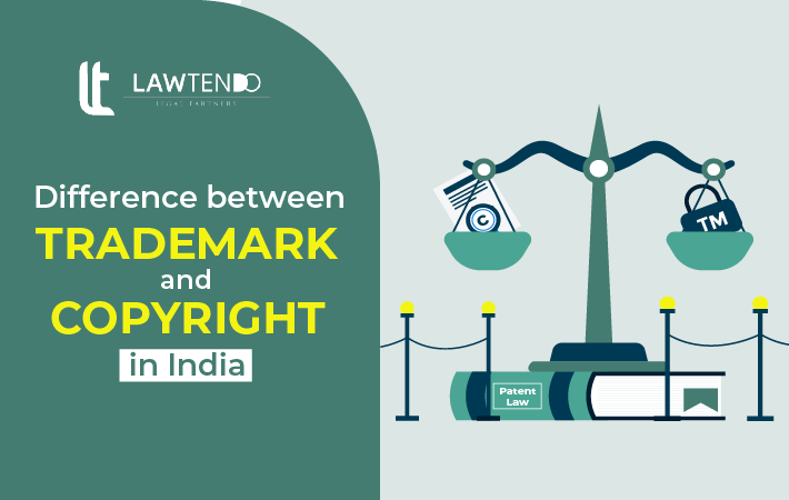 What is Difference between Trademark and Copyright?