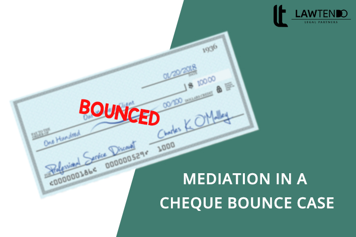 Mediation in a cheque bounce case