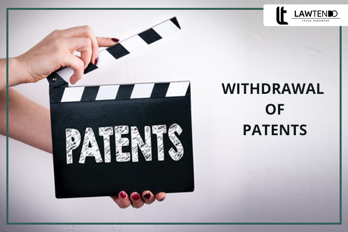 Withdrawal of patents